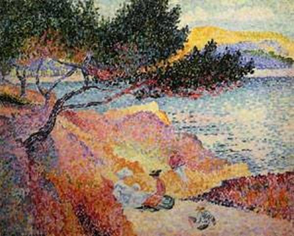 The bay at cavaliere 1906 07 xx musee de lannonciade saint tropez france